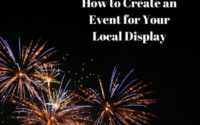 How to Create an Event for Your Local Display
