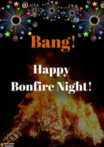 Bang! Happy Bonfire Night