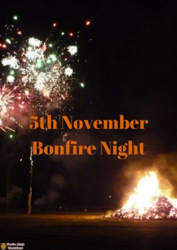 5th of November bonfire night