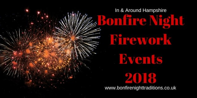 Hampshire Guy Fawkes Night Round Up 2018