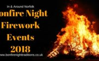Norfolk Bonfire Night Firework Events 2018