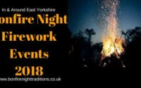 East Yorkshire Fireworks Displays Round Up 2018