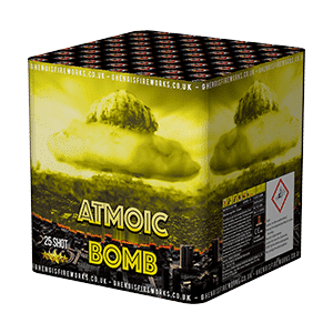 New For 2018 – Atomic Bomb 25 Shot Cake