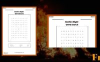 Bonfire Night Word Search 1