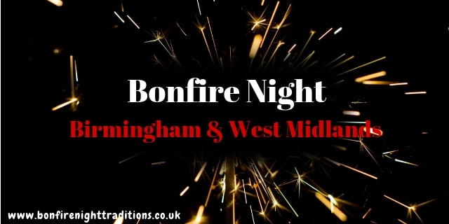 Birmingham & West Midlands Bonfire Night
