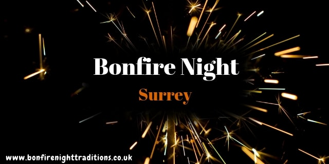 Surrey Bonfire Night